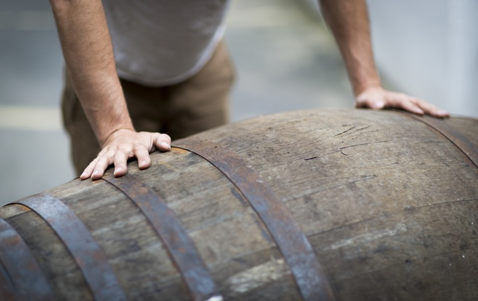 Traditional craftsmen use oak from around the world to make casks – key tools in the whisky-making process.