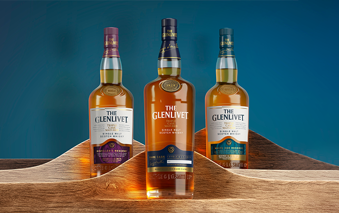 Discover our latest travel retail exclusive, The Glenlivet Triple Cask Series