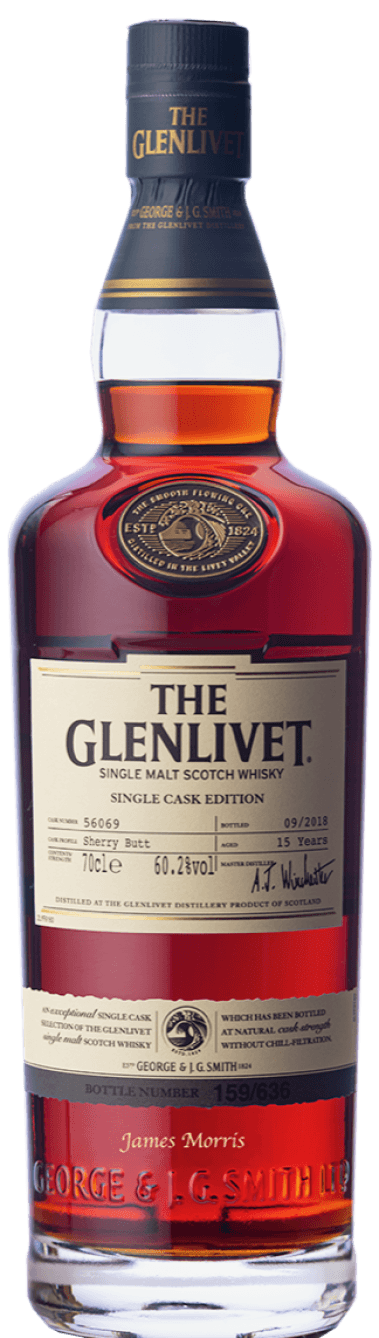 ENGRAVED 15 Year Old Single Cask
