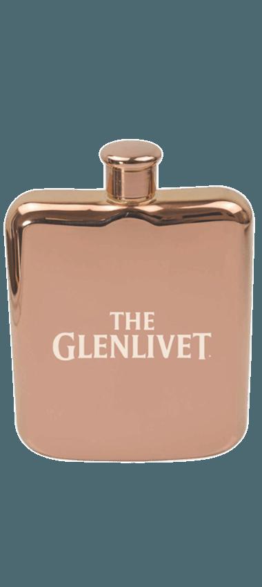 The Glenlivet Rose Gold Hip Flask