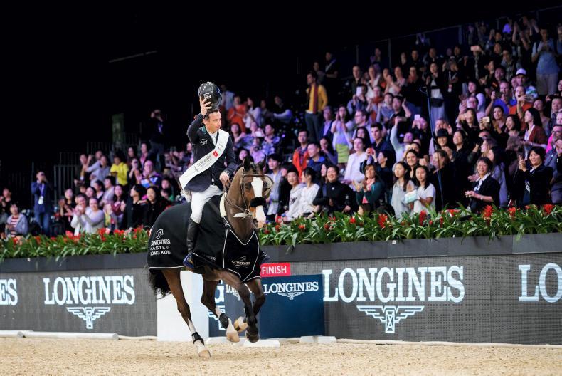 SHOW JUMPING:  Denis Lynch wins $400,000 Hong Kong Grand Prix