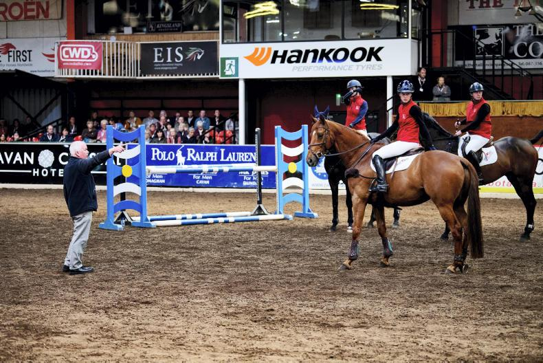 BRITISH HORSE SOCIETY NATIONAL CONVENTION: Breisner building rider balance