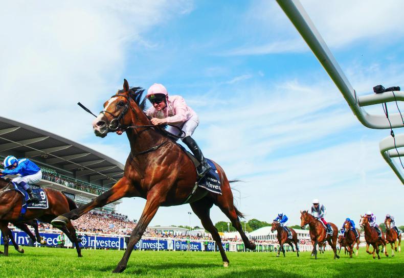 Madhmoon 'bombing' ahead of Irish Derby bid