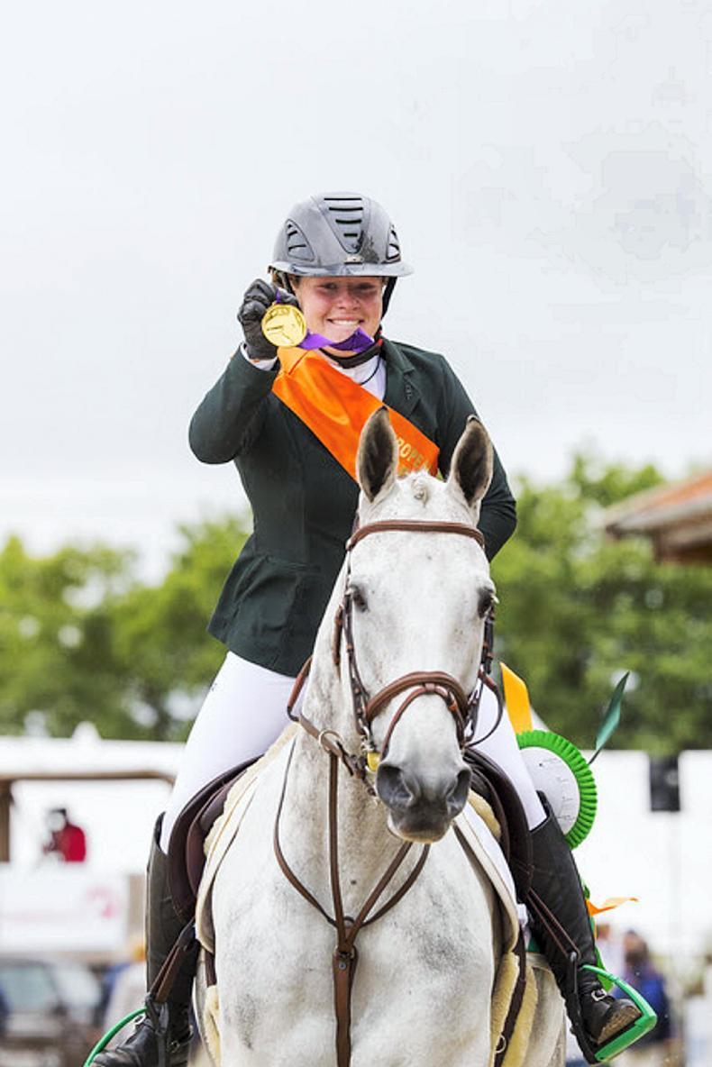 SHOW JUMPING: Kate Derwin crowned European U18 champion