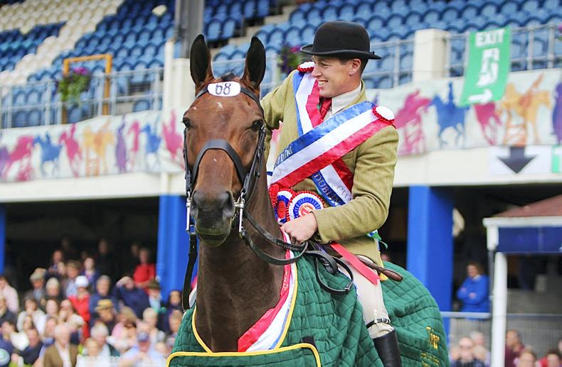 AROUND THE COUNTRY:   Proud day for Culligan at Dublin Horse Show