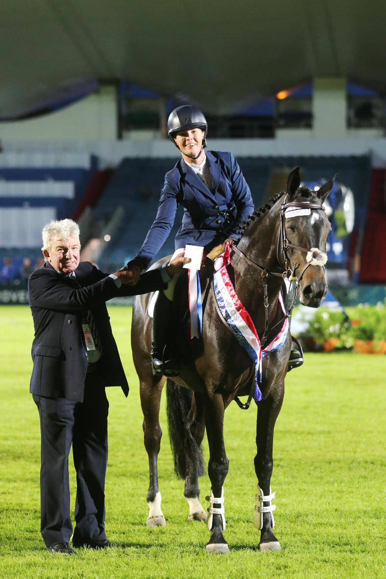 DUBLIN HORSE SHOW: John Crowley - Chief Steward of Showing
