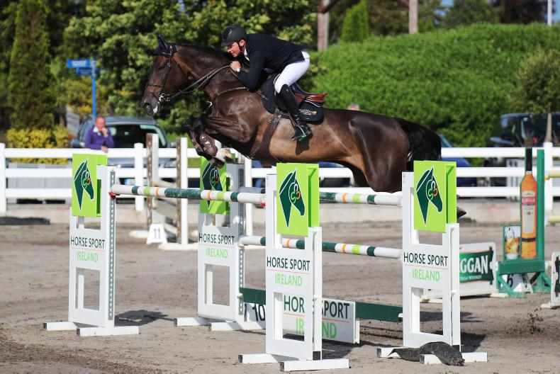 SHOW JUMPING: MHS High Hopes storms to victory for O'Neill