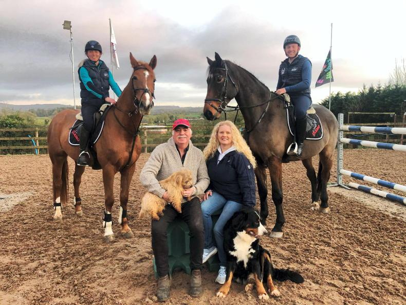 THE OWNER: 'We always like to keep to the Irish breeding lines'