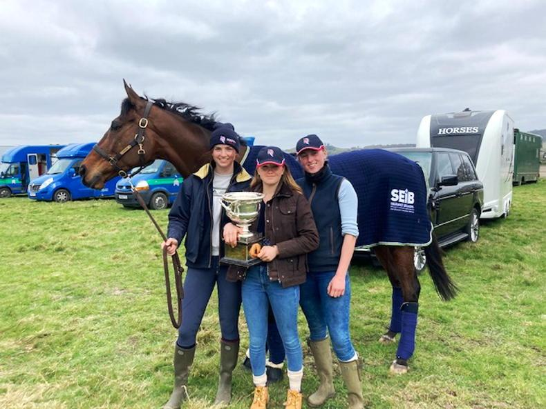 BRITISH POINT-TO-POINT: Happy days for Alice Homer