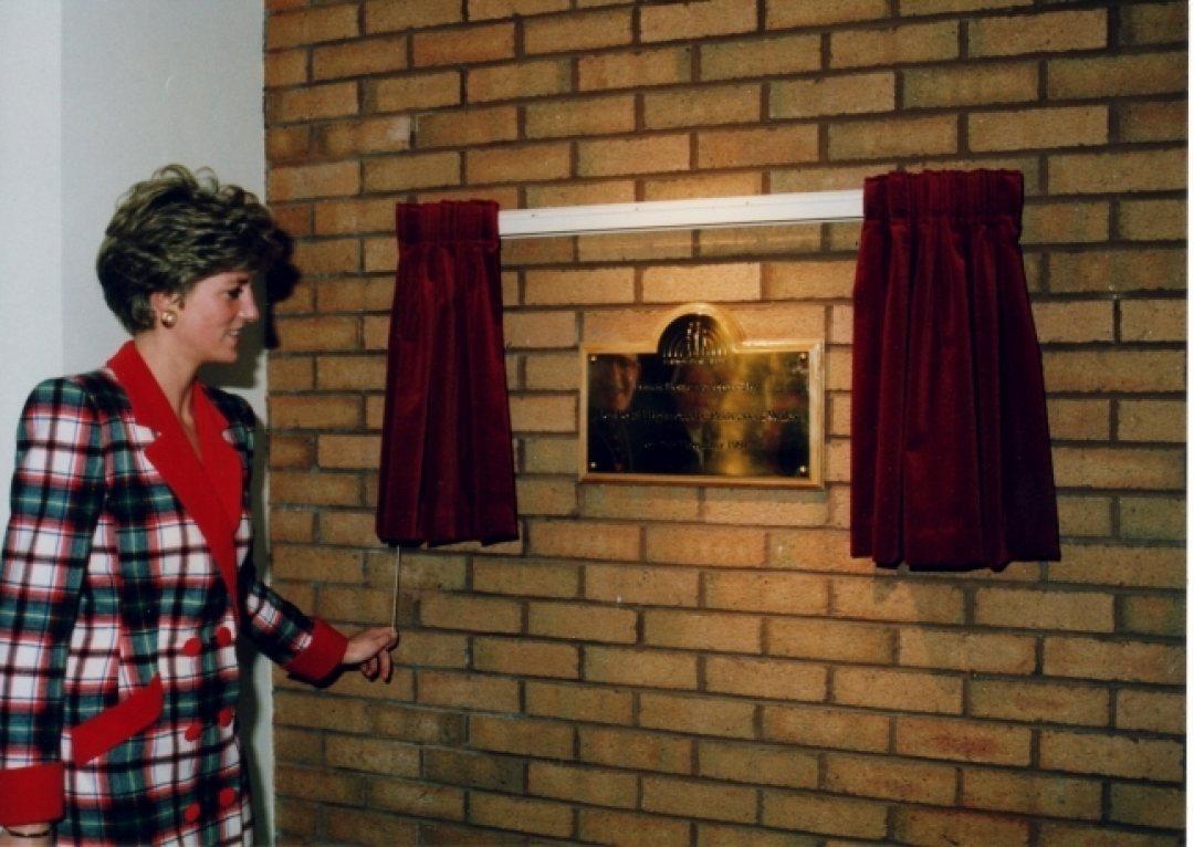 Princess Diana Opens Francis House