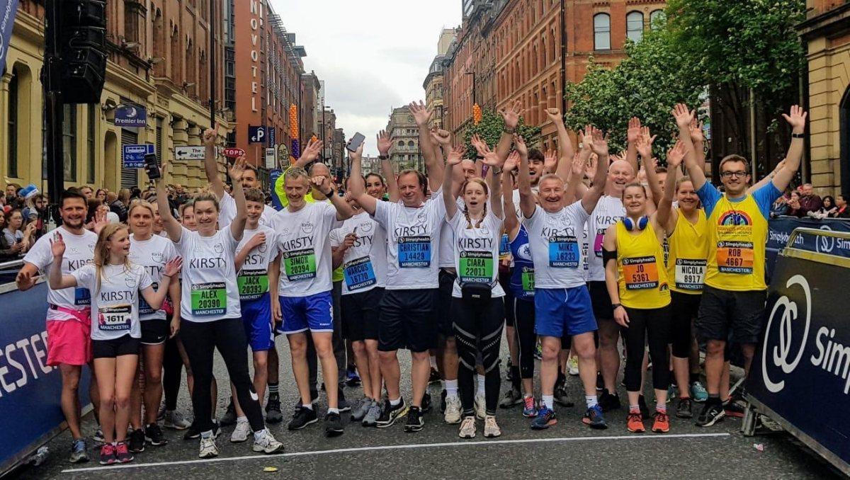 Great Mcr Run 2019 Starting Line Jump