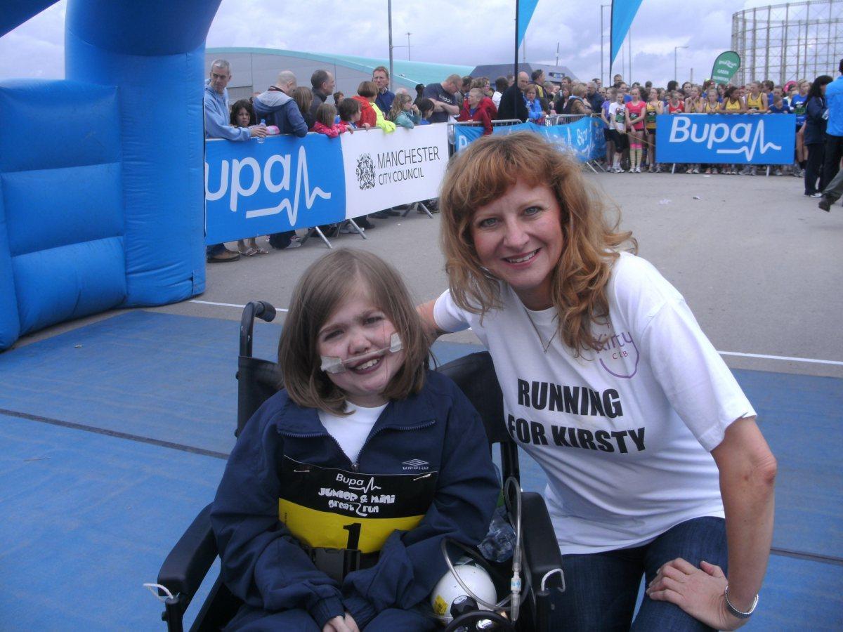 Bupa Junior Great Manchester Run 2010