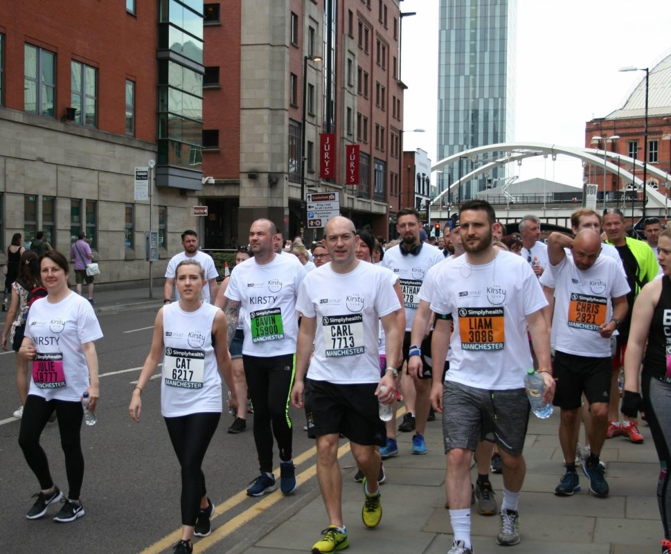 Kirsty Club Manchester 10k Run 2018 3