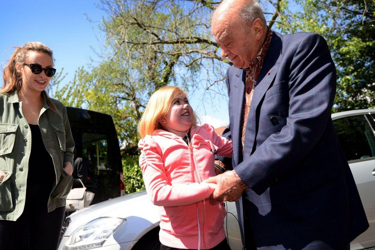 Camilla and Mohamed Al Fayed