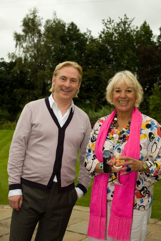 Kevin Horkin with Carol Thatcher