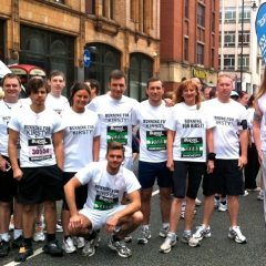 Team Kirsty at Bupa Great Manchester Run 2011