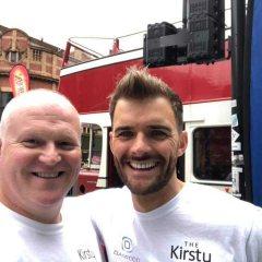 Great Mcr Run 2019 Nigel & Oliver