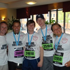 GSD Team after Bupa Great Manchester Run 2010