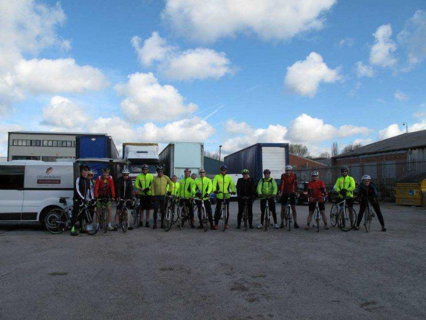 The Kirsty Club Challengers Tour De France Bike Ride