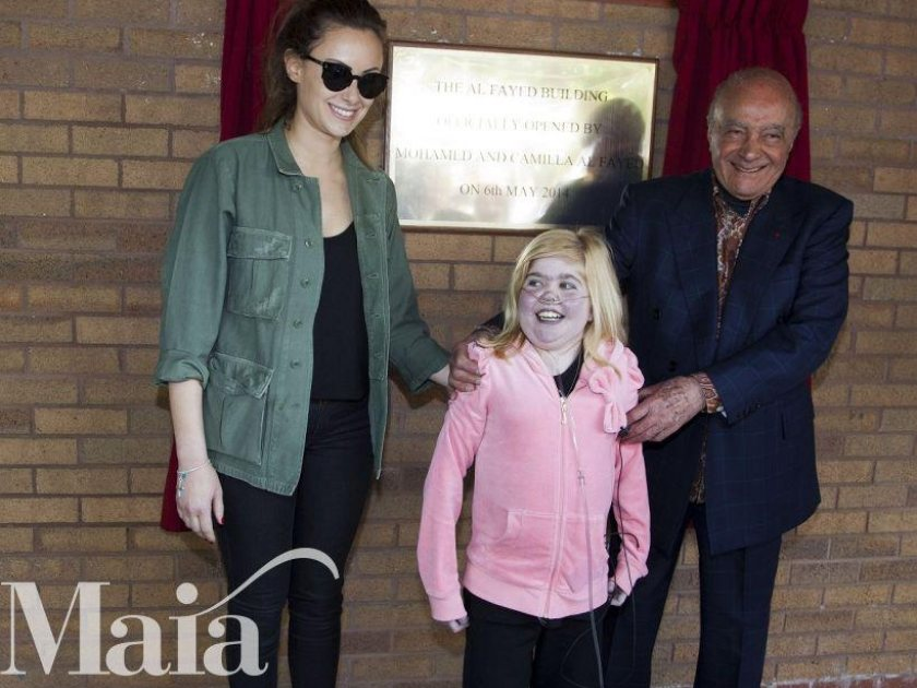 Launch of the £3.5m Al Fayed Building at Francis House Children's Hospice
