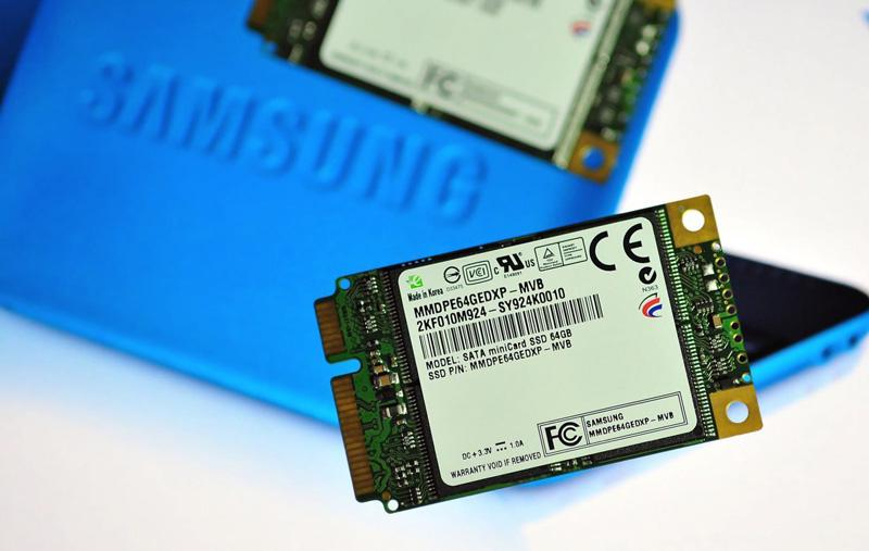 008 230609 Samsung Develops Solid State Drive with SATA Mini card Design for Blazing fast Netboo
