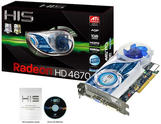HIS Radeon HD 4670 IceQ AGP 1GB 01