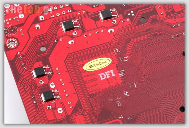 dfi blood iron under the cpu area