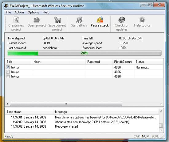 Elcomsoft Wireless Security Auditor 01