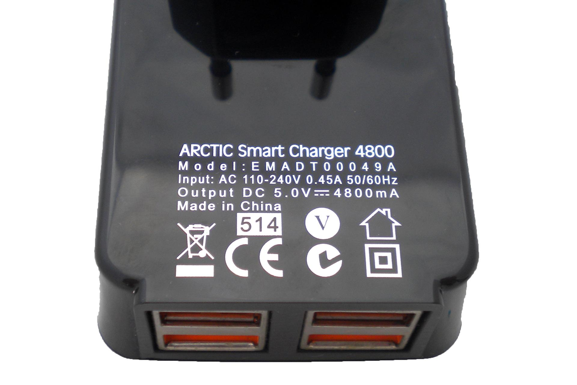 specs Arctic Smart Charger 4800 review