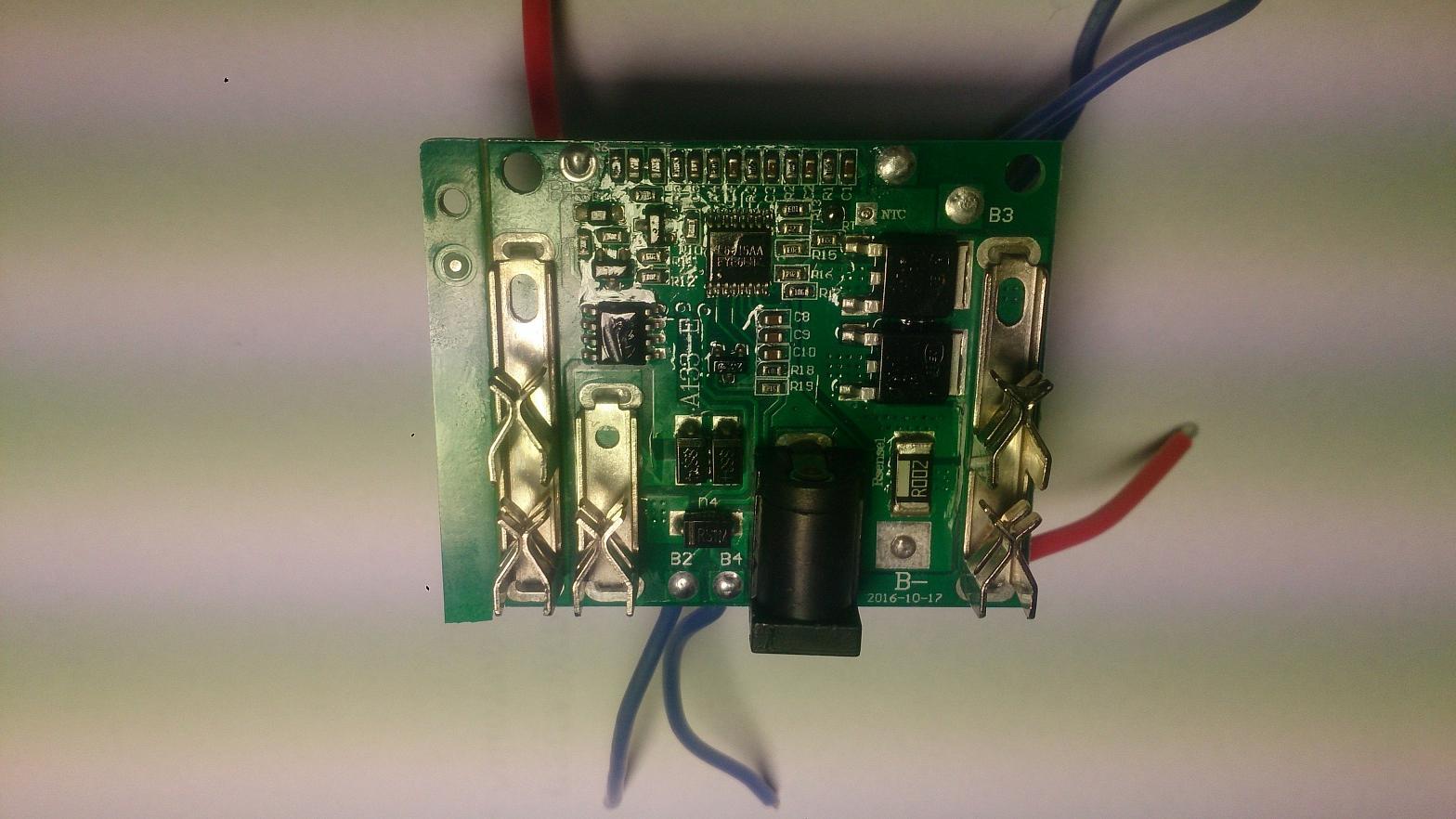 Rebuild Li Ion Cordless Screwdriver Battery Pcm Pcb Liion Protection Circuit Module Diy 18650 Cell Ebay 2017 01 31 101341