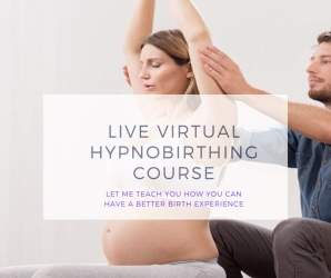 Image Live virtual hypnobirthing course.png of Class The Complete Hypnobirthing Programme  for Parents