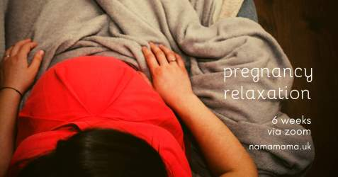 Image NamaMamaPregnancyRelaxation.png of Class The Pregnancy Relaxation Programme for Parents