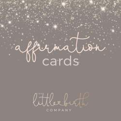 Image of Birth Affirmation Cards