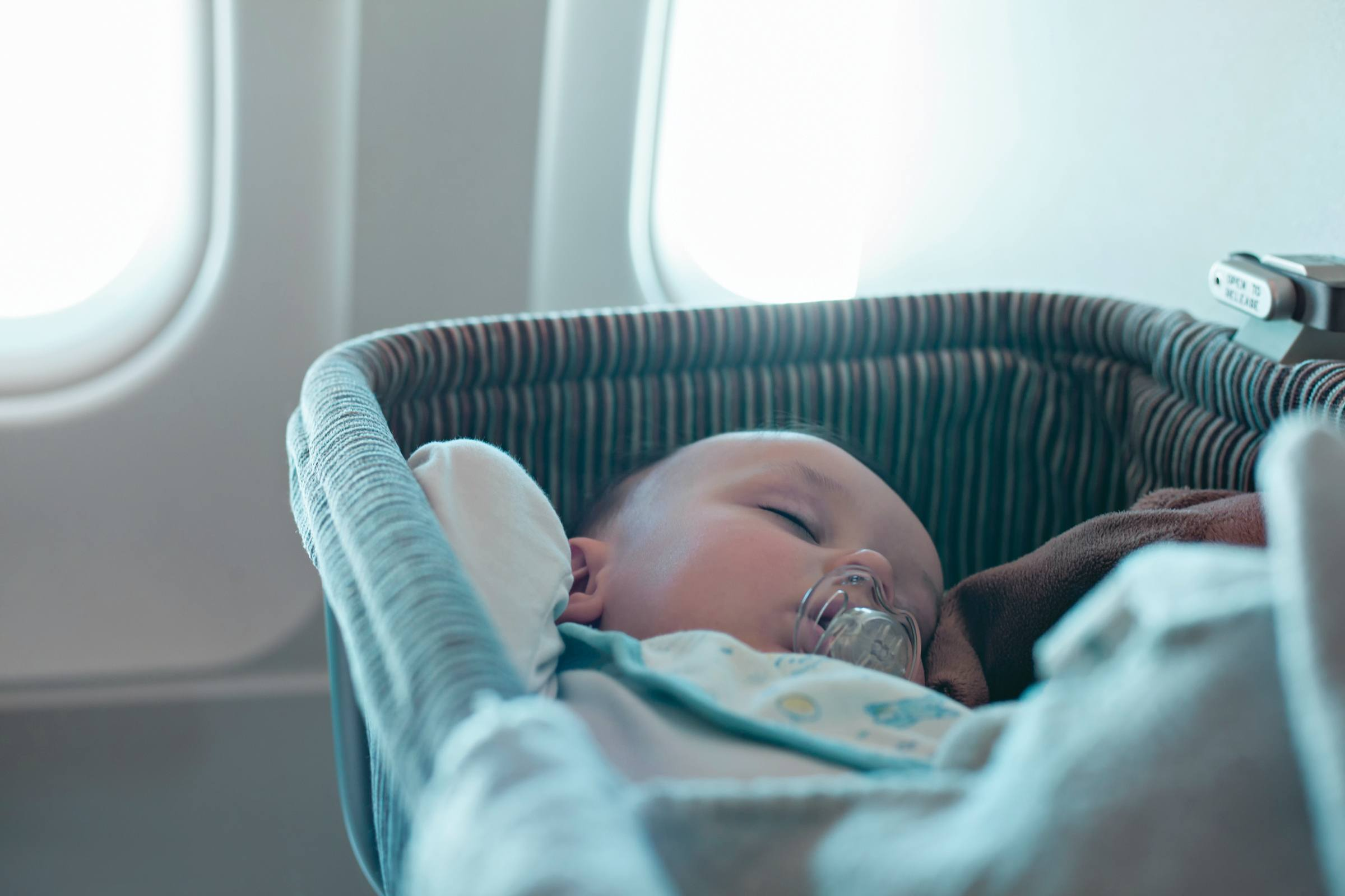 Baby Travel on Plane