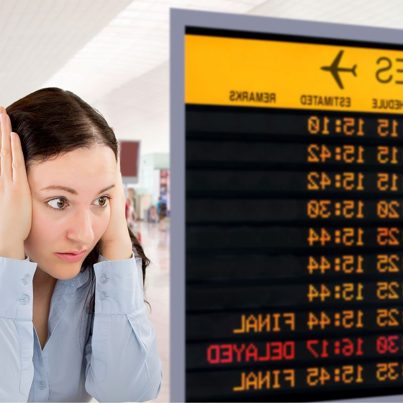 Family Holiday preparation - cancelled flights