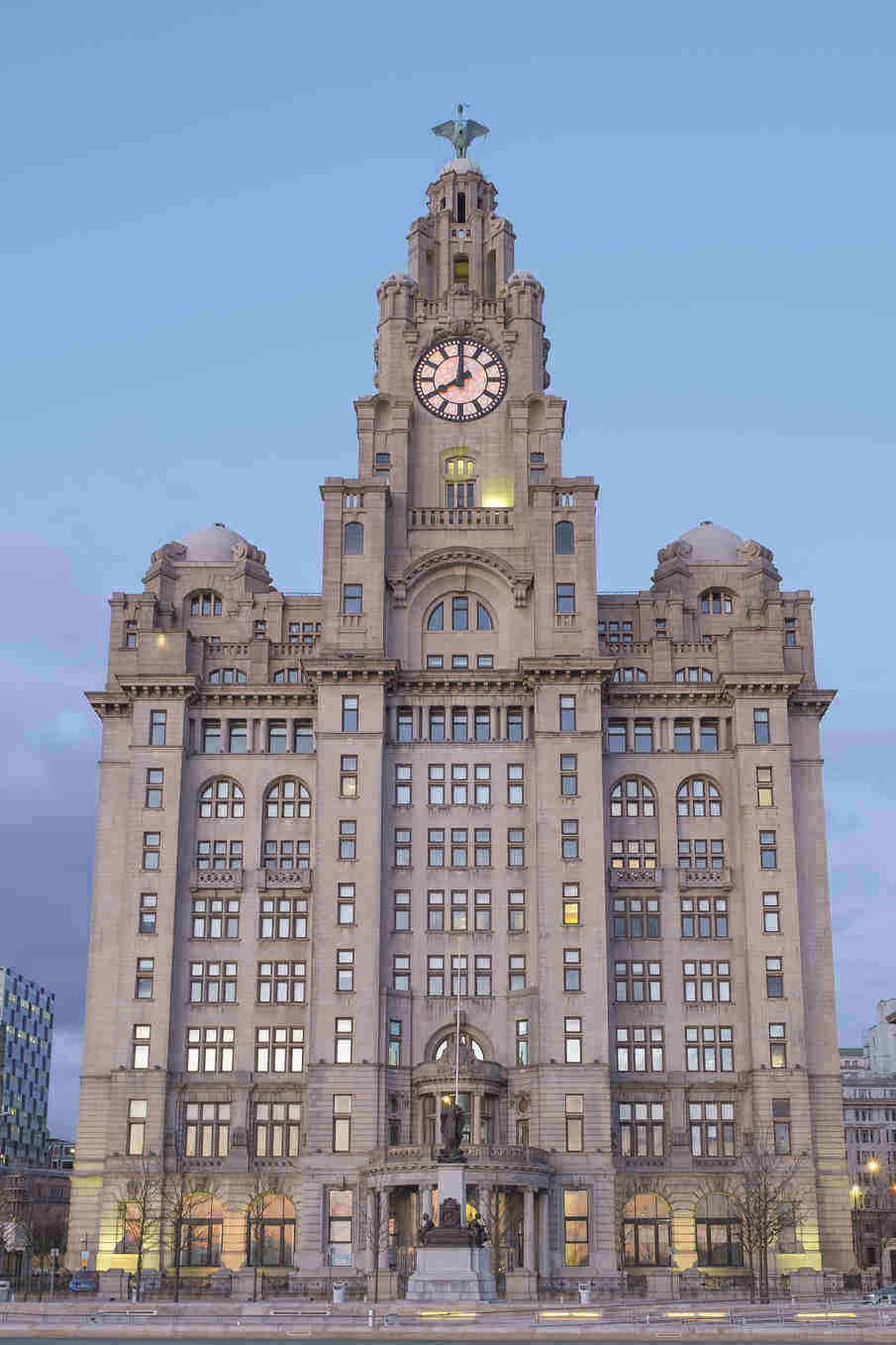 Liverpool Family Holidays - Liver Building