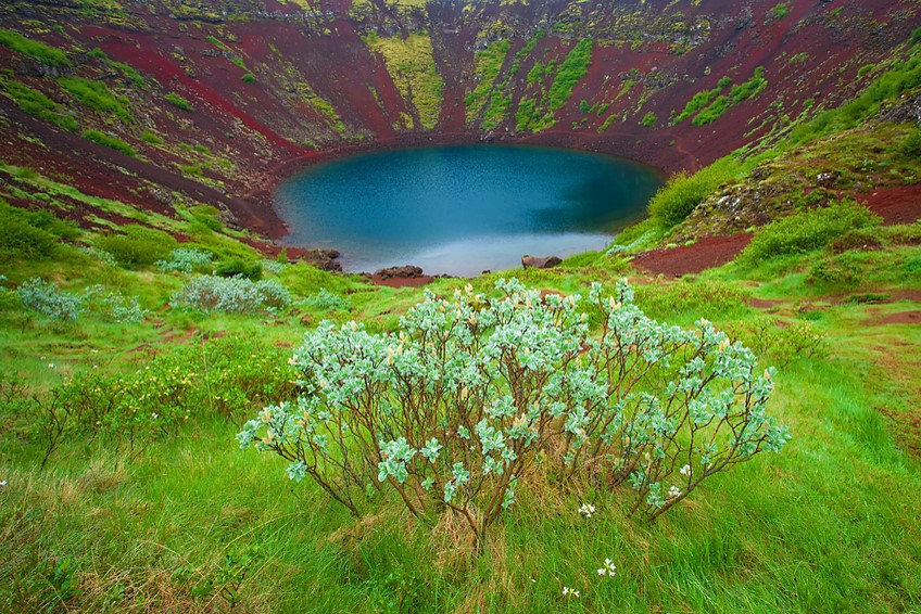 Top Destinations in Iceland - Volcano Lake