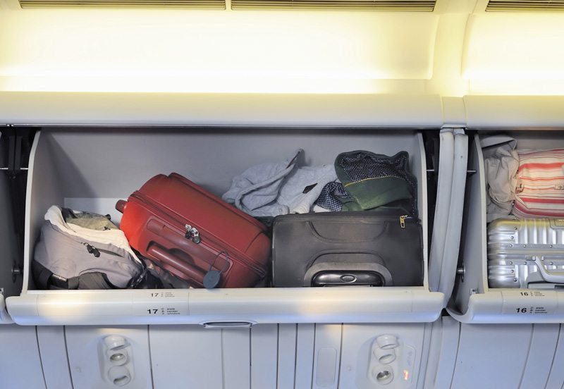 Luggage for a family holiday - cabin baggage