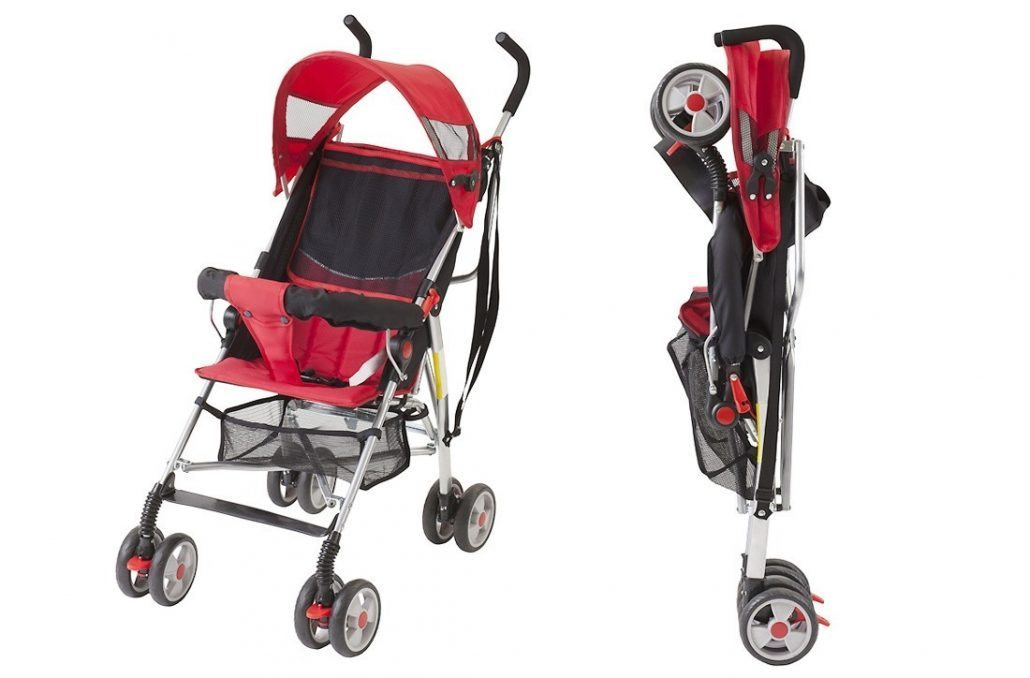 Essential Travel Gear for baby- travel stroller/pushchair