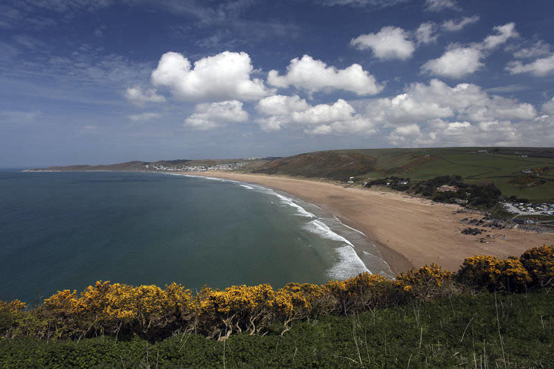 Family Beach Holidays UK - Woolacombe Beach Devon