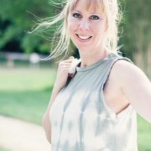 Kelly Cousin , Art-thérapie à Chantilly, France