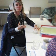 Francoise Leonard , Hypnose à Yves, France