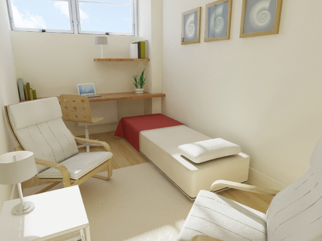 Consulting room layout image preview