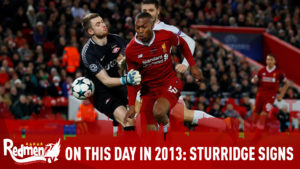 On This Day In 2013: Sturridge Signs