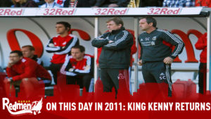 On This Day In 2011: Kenny Dalglish Returns