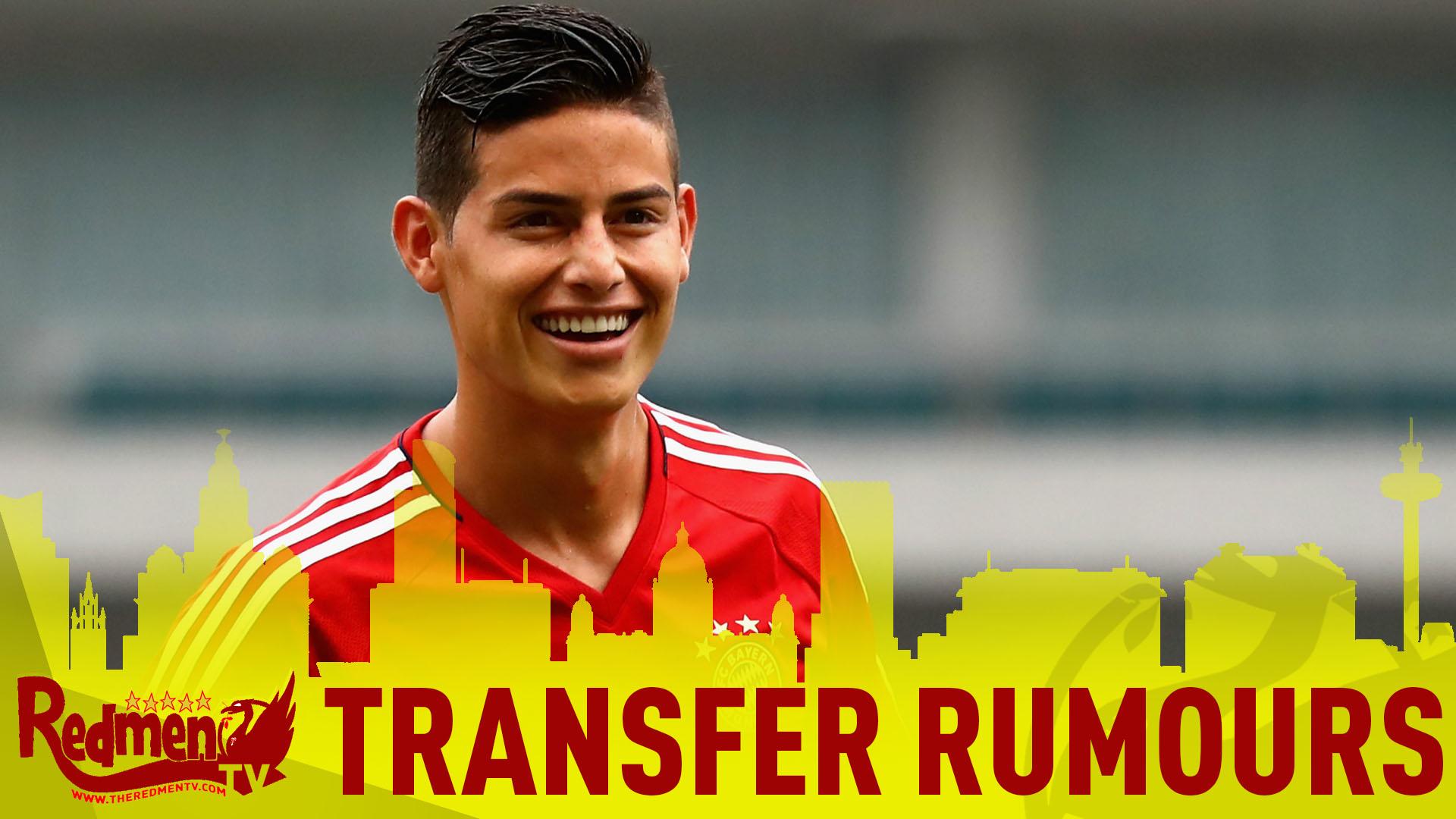 📹 James Rodriguez Rumours | #LFC Transfer News LIVE
