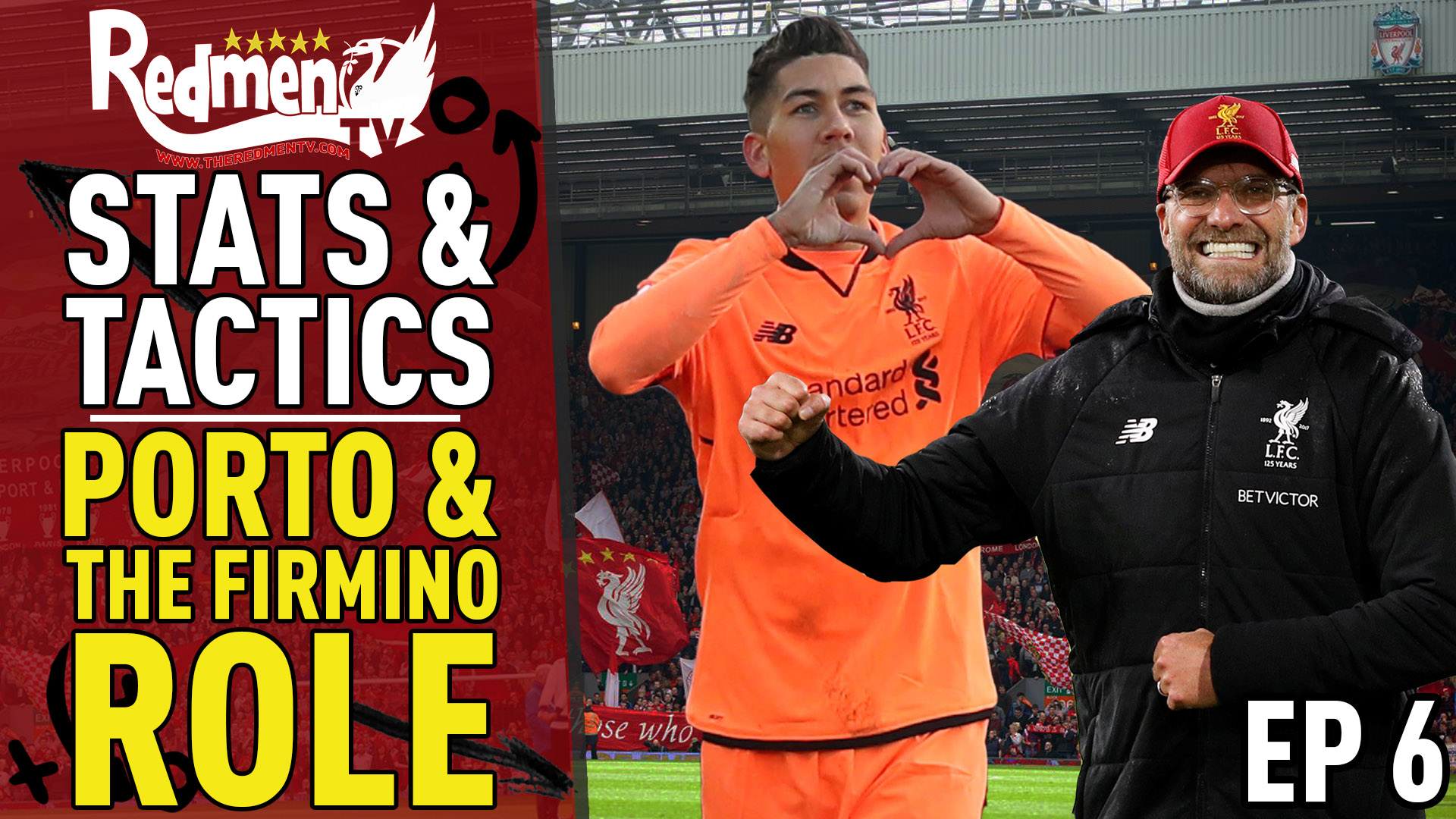 📹🏆 Stats & Tactics Weekly   Porto & The Firmino Role   Week 6