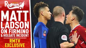 📹🏆 Matt Ladson On Firmino & Holgate Incident