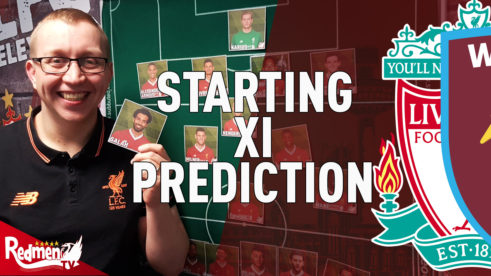 Liverpool v West Ham | Starting XI Prediction LIVE