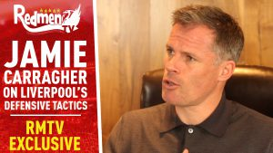 📹🏆 Jamie Carragher on Liverpool's Defensive Tactics, Past and Present.